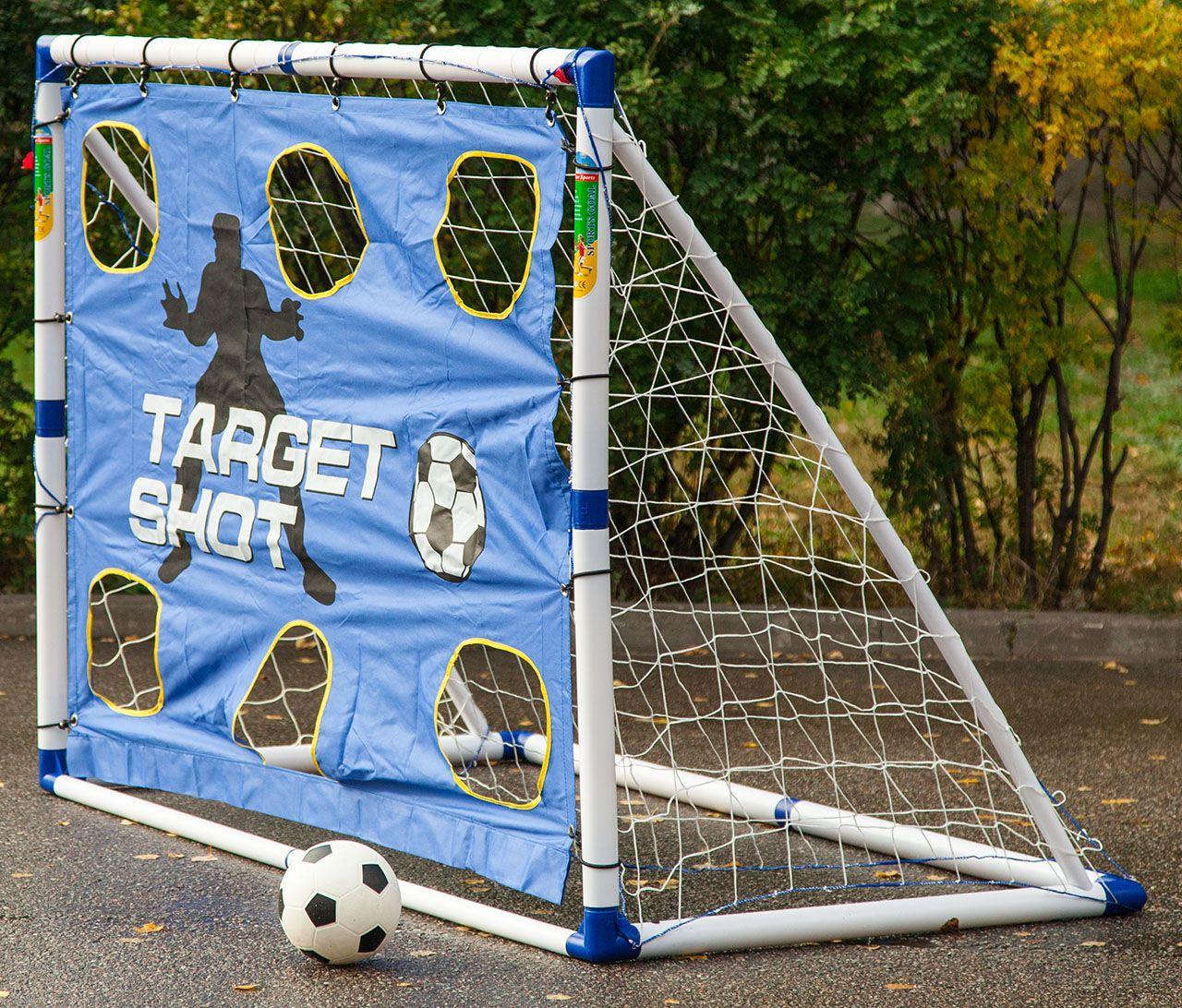 Футбольные ворота детские для дачи
