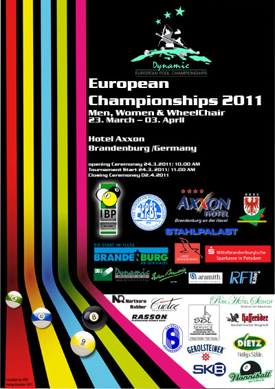 European Championships - 2011 - Men, Women & WheelChair