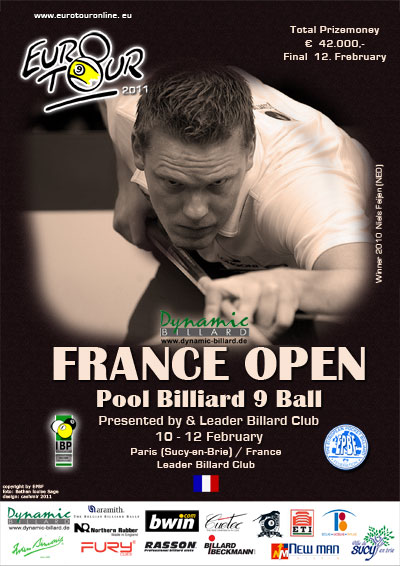 Diamond Nine - Euro-Tour/ Dynamic French Open