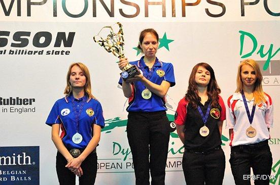 Дарья Сиротина, золотая медалистка Чемпионата Европы в Люксембурге. Десятка