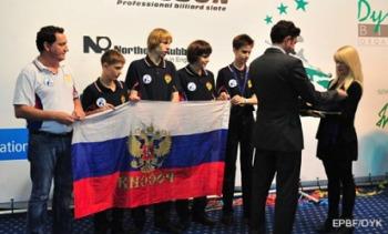 Сборная России на Чемпианате Европы по пулу в Люксембурге