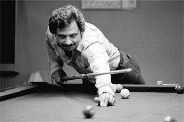 Дэнни ДиЛиберто (1982 Dayton 9-Ball Open, фото — Билл Портер).