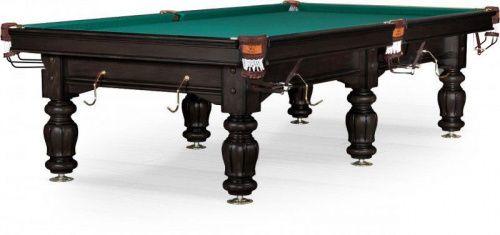 Бильярдный стол для русского бильярда «Classic II» 10 ф (черный орех) купить в Москве, низкие цены